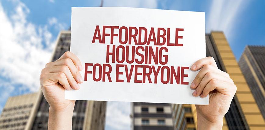 Accessibilité des prix d'habitations